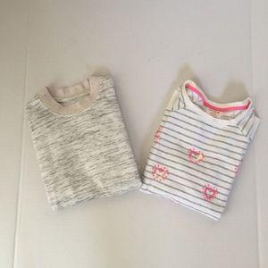 Other - Lot of 2 Girls Sweatshirt Tops